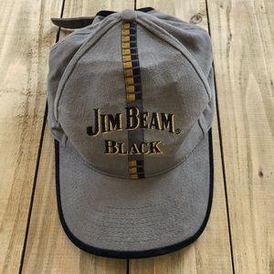 Vintage Gray Jim Beam Hat